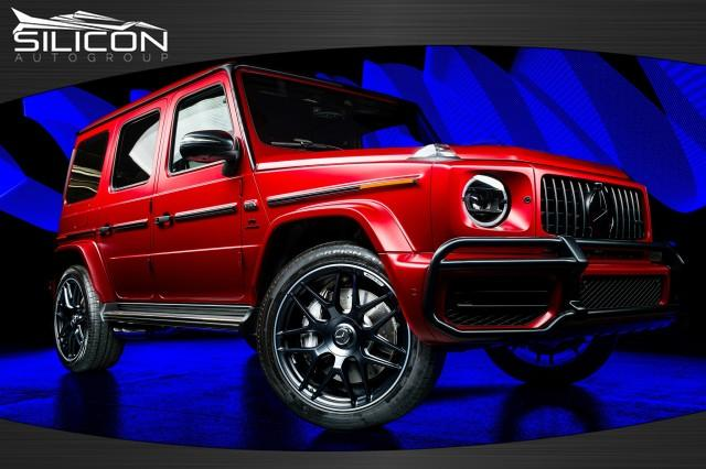 Used 2021 Mercedes-Benz G-Class AMG G 63 1 of 100 for sale $279,880 at Silicon Auto Group in Spicewood TX