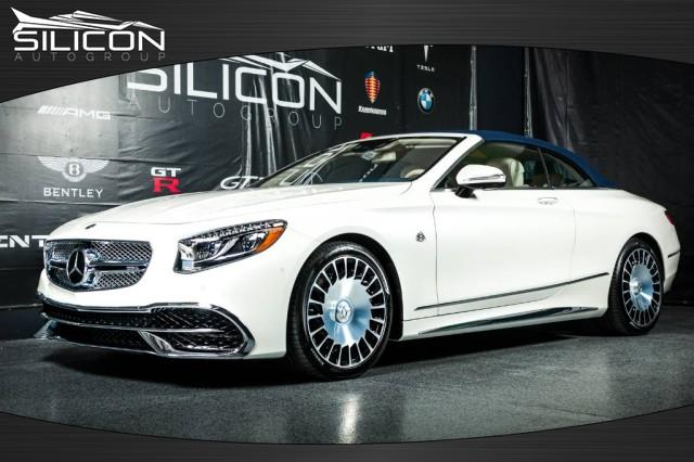 Used 2017 Mercedes-Benz S-Class S 650 Maybach Cabriolet for sale $424,880 at Silicon Auto Group in Spicewood TX